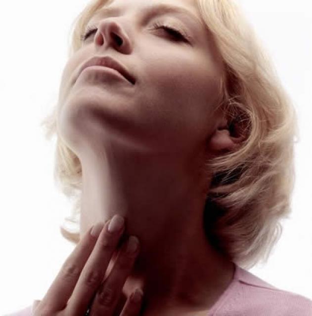 как болит горло если рак