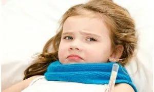 Как понять что у ребенка ангина 2 года