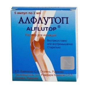 Алфлутоп: инструкция по применению уколов внутримышечно, состав препарата, побочные действия, противопоказания