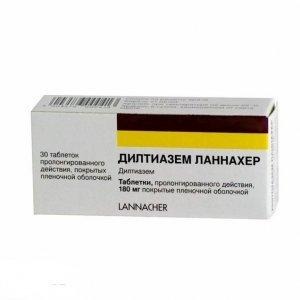 Дилтиазем ланнахер по цене от 154. 00 рублей, купить в аптеках.