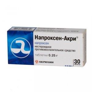 напроксен акри инструкция по применению таблетки