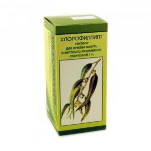 Хлорофиллипт инструкция по применению спиртовой 1