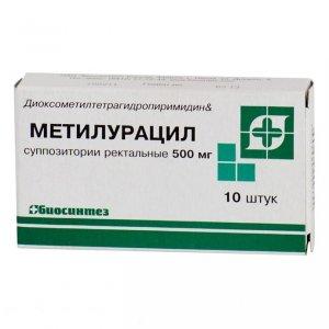 метилурацил свечи инструкция по применению в гинекологии
