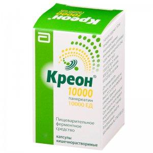 От чего таблетки креон 10000